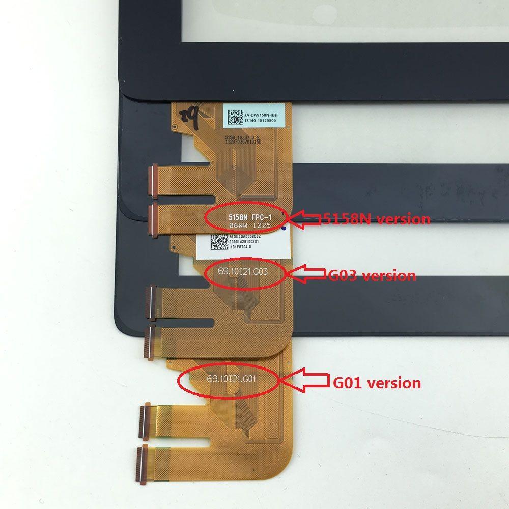Touch Screen Digitizer Glass Sensor Panel For Asus EeePad Transformer TF300 TF300T TF300TG TF300TL 5158N G01 G03 VERSION