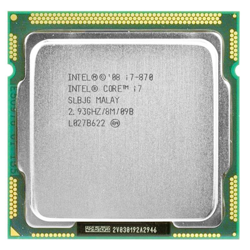 Intel core 2 i7-870 intel i7 870 i7 prozessor Quad Core 2,93 ghz 95 watt LGA 1156 8 mt Cache Desktop CPU garantie 1 jahr