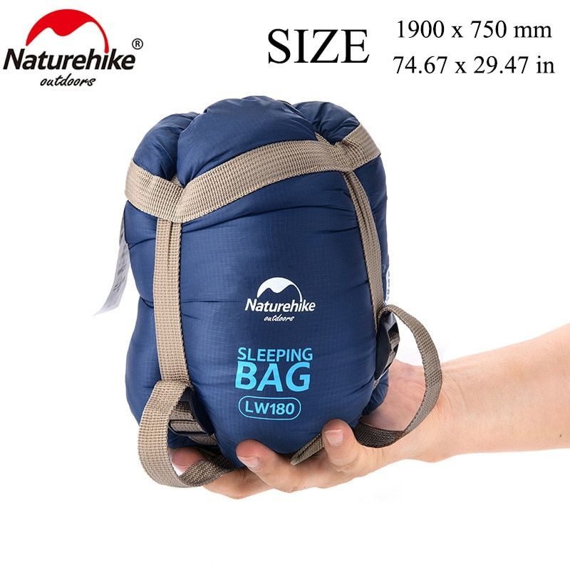 NatureHike 75 x 29.5'' Mini Outdoor Ultralight Envelope Sleeping Bag Ultra-small Size For Camping Hiking Climbing NH15S003-D