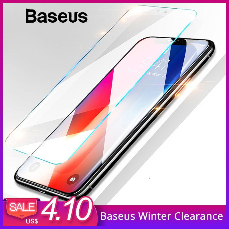 Baseus 0,15mm Super Dünne Screen Protector Für iPhone Xs Max Xs XR Glas Film 2018 Anti Blau Licht Gehärtetem glas Für iPhone X