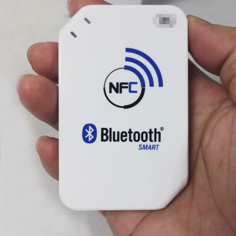 13.56mhz ACR1255-J1 NFC Bluetooth Wireless Contactless RFID Reader Writer Support ISO14443 S50 Chip, NFC Card