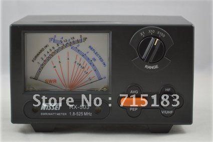 New Original TAIWAN NISSEI RX-503 SWR/Watt Meter 1.8-525MHz 2/20/200W for Two-way Radio Watt meter for walkie talkie