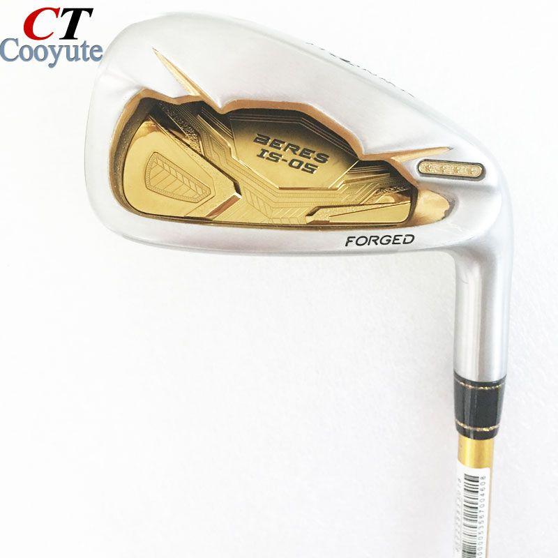 Neue männer Cooyute Golf Clubs HONMA S-05 4 sterne Golf irons set 4-11.Aw.Sw Clubs irons Graphit golfschaft R Flex Freies verschiffen