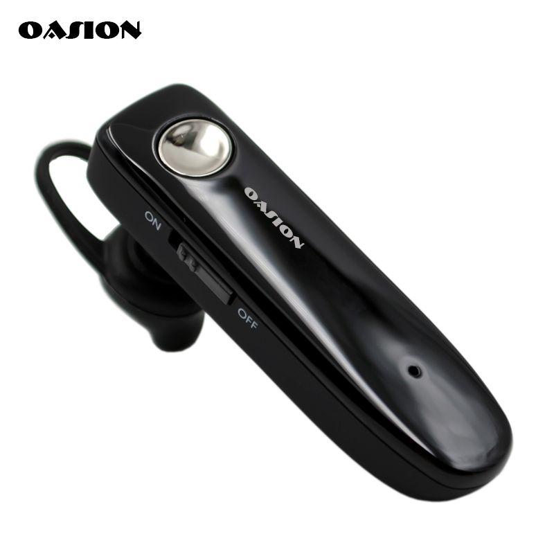 Oreillette bluetooth sans fil OASION longue veille écouteur bluetooth anti-bruit avec microphone casque pour téléphone portable