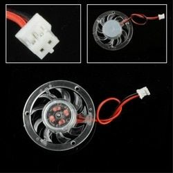 High Qaulity Mini 48mm 12V PC CPU VGA Video Card Heatsink Cooling Cooler Fan 2 Pin Female Connector Easy to Install
