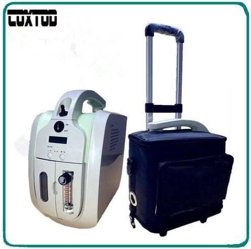 COXTOD Sauerstoffkonzentrator mit Batterie Trolley tragetasche Auto adapter sauerstoffgenerator konzentrator sauerstoff-bar luftreiniger