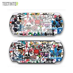 Bomb Protector Vinyl Skin Sticker for PSP 3000 Console Cover for PlayStation Portable 3000 Decal