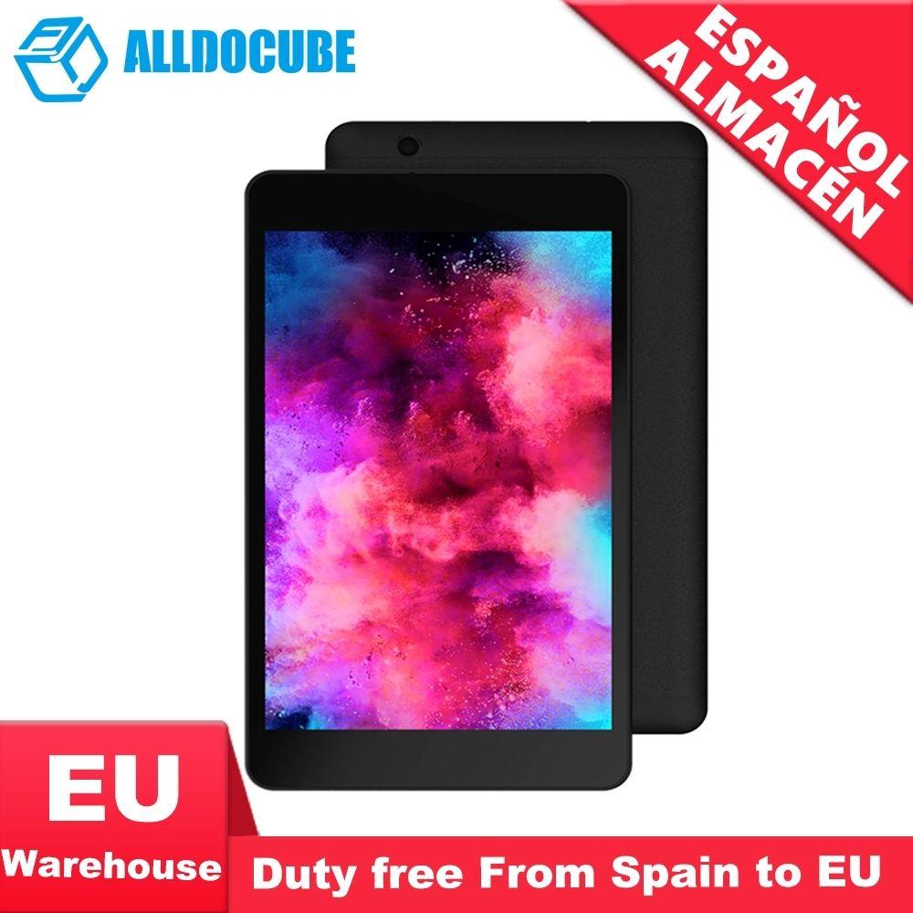ALLDOCUBE M8 Tableta de la llamada de teléfono 4G 8 zoll 4G LTE MTK X27 1920*1200 3 GB RAM 32 GB ROM Android 8.0 GPS Dual SIM
