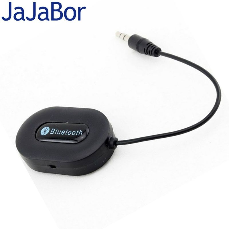 JaJaBor Car MP3 Music Receiver Stereo 3.5mm AUX USB Wireless Bluetooth Audio Receiver Adapter for Phone PC Bluetooth Car Kit