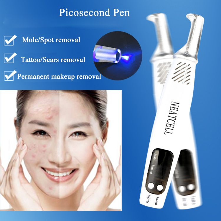 Professional Laser Picosecond Pen Tattoo Freckle Removal Mole Spot Eyebrow Pigment Remover Acne Treatment Machine Beauty Care