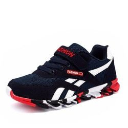 DIMI 2019 весна/осень детская обувь для мальчиков спортивная обувь модная брендовая Повседневная дышащая уличная детская спортивная обувь для ...