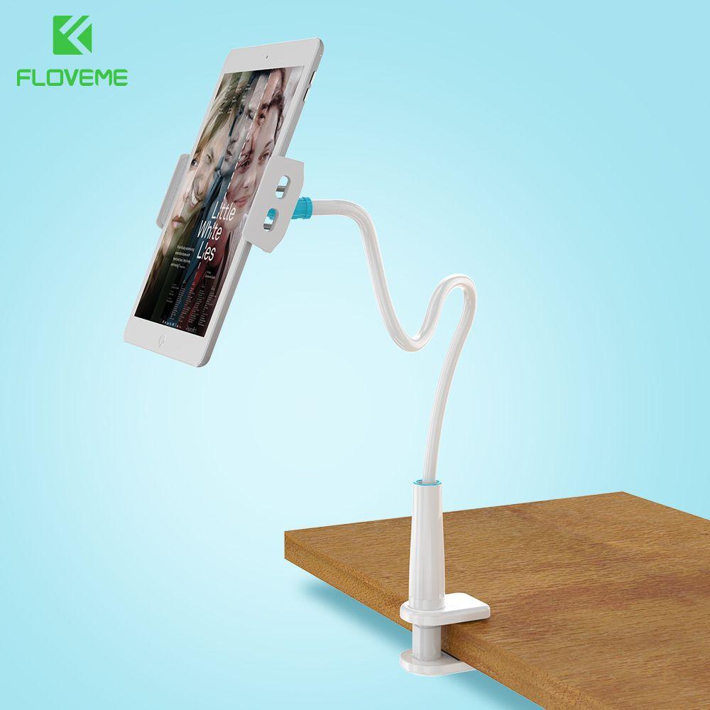 FLOVEME 80 cm Langen Arm Verstellbare Halterung Handyhalter Für iPhone 7 6 6 S Plus iPad Für Samsung S8 Plus S7 S6 Rand Stehen Tablet