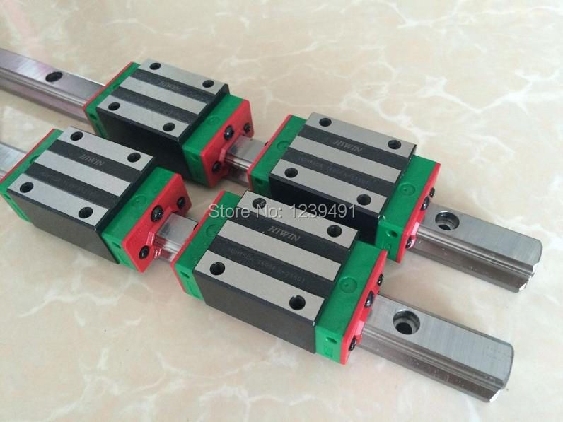10pcs HGR15- 200mm linear guide +10pcs HGR15- 250mm linear guide +40pcs HGH15CA linear block