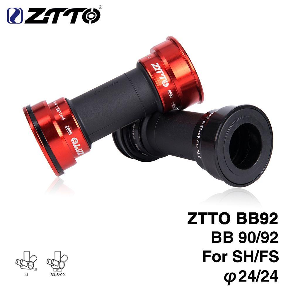 ZTTO BB92 BB90 BB86 vtt VTT de route vélo presse ajustement supports inférieurs pour pièces Prowheel 24mm pédalier