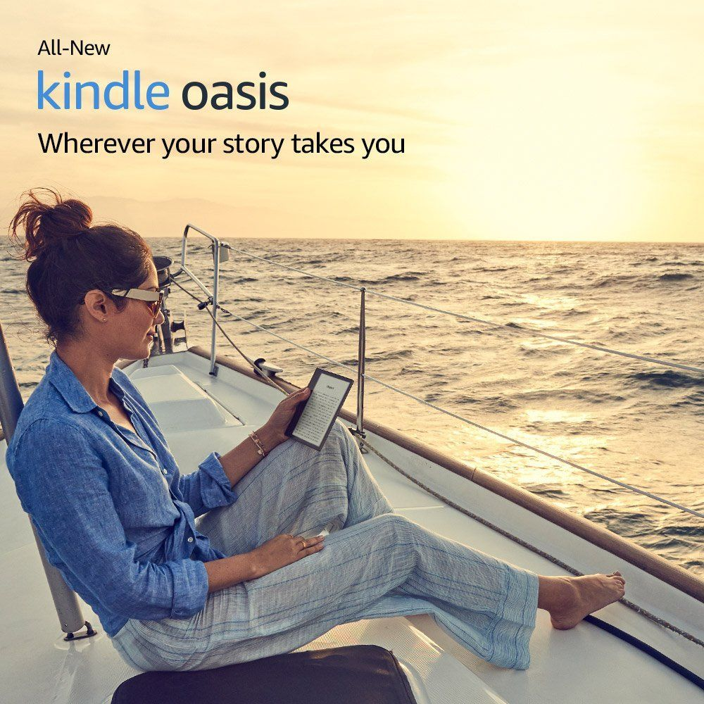 All-New Kindle Oasis 32GB, E-reader - 7