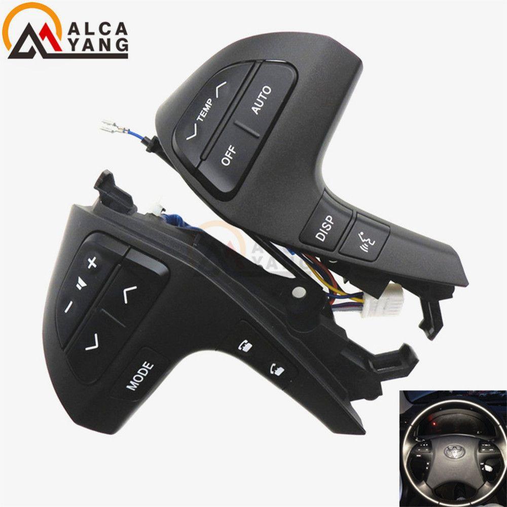 Boutons Bluetooth téléphone pour Toyota HIGHLANDER 84250-0E120 bouton de commande Audio de roue 84250-0E220 84250-0K020