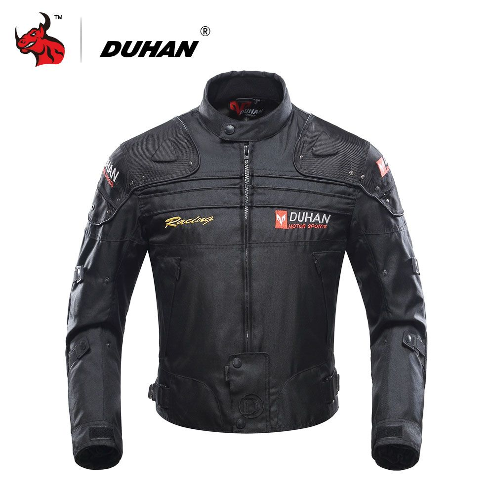 DUHAN <font><b>Motorcycle</b></font> Jacket Motorbike Riding Jacket Windproof <font><b>Motorcycle</b></font> Full Body Protective Gear Armor Autumn Winter Moto Clothing
