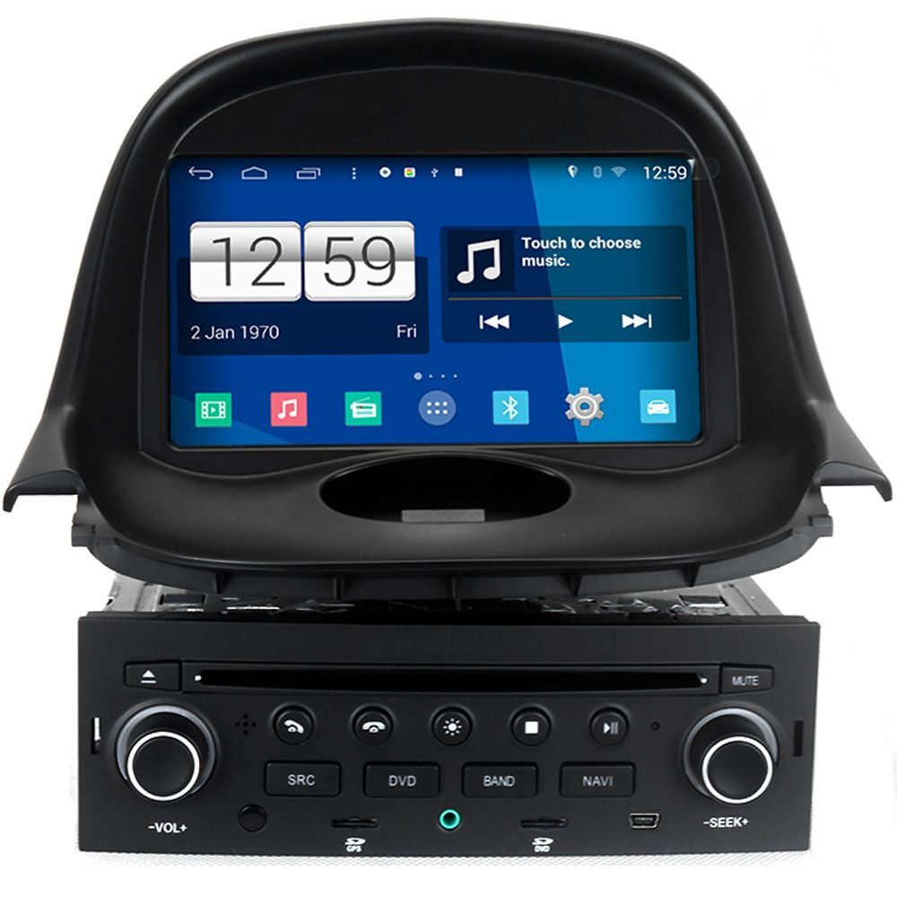 Winca S160 Android 4.4 System Car DVD GPS Headunit Sat Nav for Peugeot 206 with Wifi / 3G Host Radio Stereo