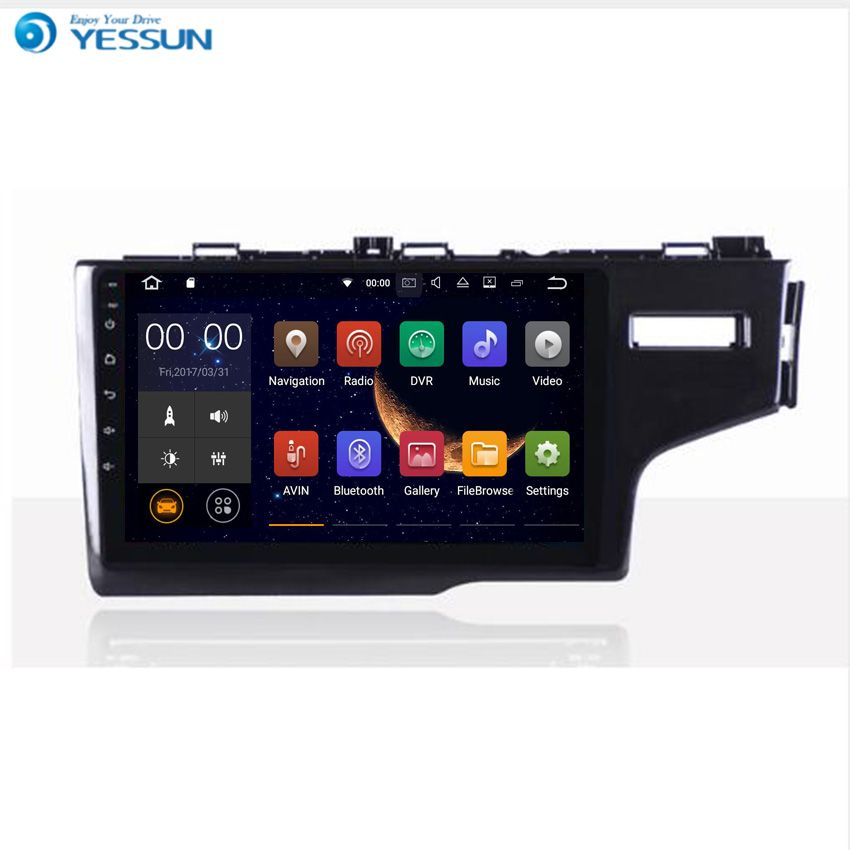YESSUN Android Radio Car Player For HONDA FIT / JAZZ 2014~2016 Stereo Radio Multimedia GPS Navigation With WIFI Bluetooth AM/FM
