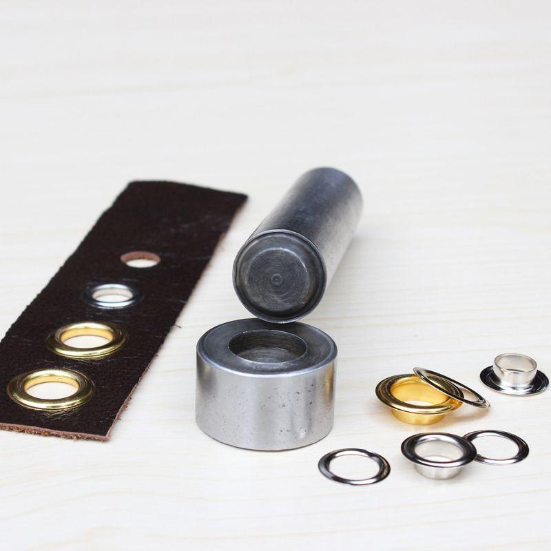 3.5mm-25 mmEyelets werkzeuge schnalle, Eisen hühneraugen. niet. nähen reparatur werkzeuge. lederband punsch. Hand klopfen installation tools stirbt