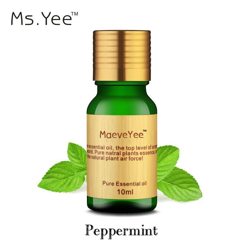 Huile de menthe poivrée 100% Pur et Naturel Prime Mentha Aromathérapie Menthe huile essentielle Meilleur Parfum Frais est pour La Maison et le Travail Repousser Les Souris