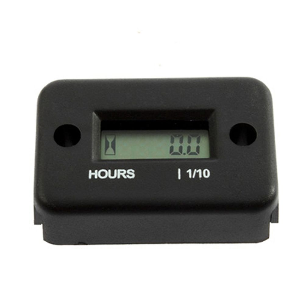 1Pc Motorcycle Hour Meter Digital Display For Snowmobile Marine Boat Mountain Skiing Quad Bike Time Recorder CSL2017