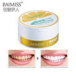 BAIMISS Frais Éblouissement Lumineux Dent Poudre Blanchiment Des Dents de Nettoyage De L'hygiène Buccale Dents Plaque Détartrage Taches Doux 50g