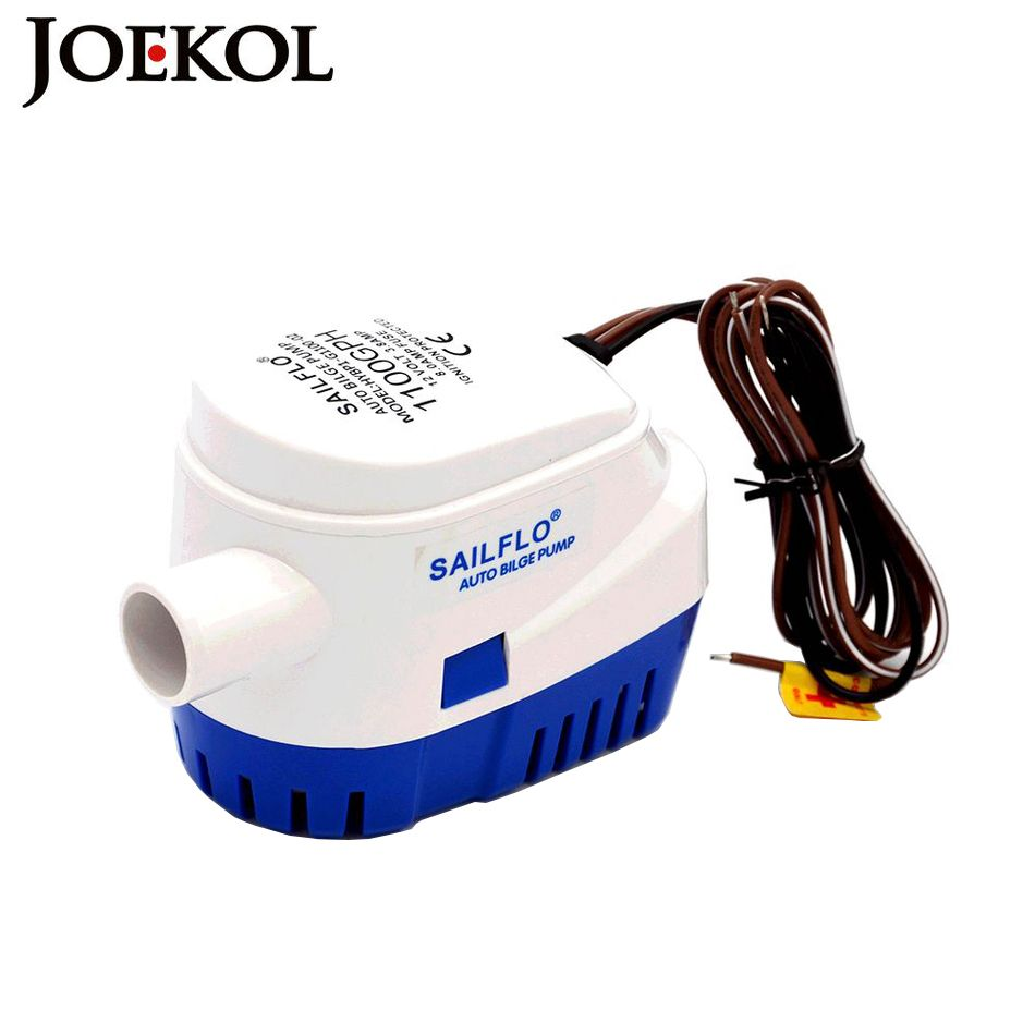 Free shipping,DC 12V/24V 1200/1100GPH Automatic bilge pump,submersible boat water pump,electric pump for boats.Bilge Pump 12v