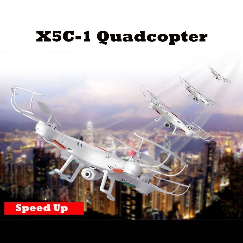 Drone X5C-1 Remote Control RC Quadcopter with Optional Camera Drone Quadcopter 4CH 6-Axis Helicopter TOY GIFT VS x5 x5c FSWB