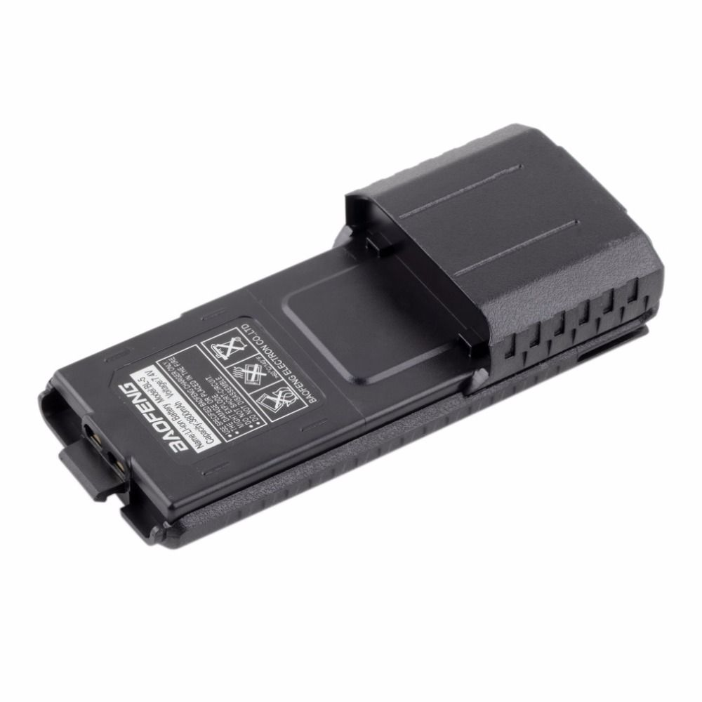 For Baofeng Pofung BL-5L 3800mAh 7.4V Extended Li-ion Battery for UV-5R Radio Rechargerable Batteries