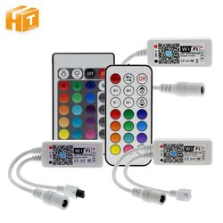 Wifi RGB / RGBW LED Controller Mini DC12V With RF 21Key / IR 24Key Remote Control For RGB / RGBW LED Strip Lights
