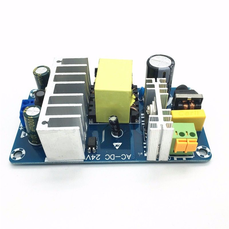 AC85-265V к DC24V DC12V Импульсные блоки питания доска AC-DC Мощность модуль 24 В 4-6A 6-8A 100 Вт