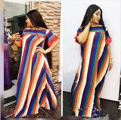 2018 New Fashion Women's Dashiki Dress  African Print Maxi Vestidos Robe Africaine Femme Dashiki Dress