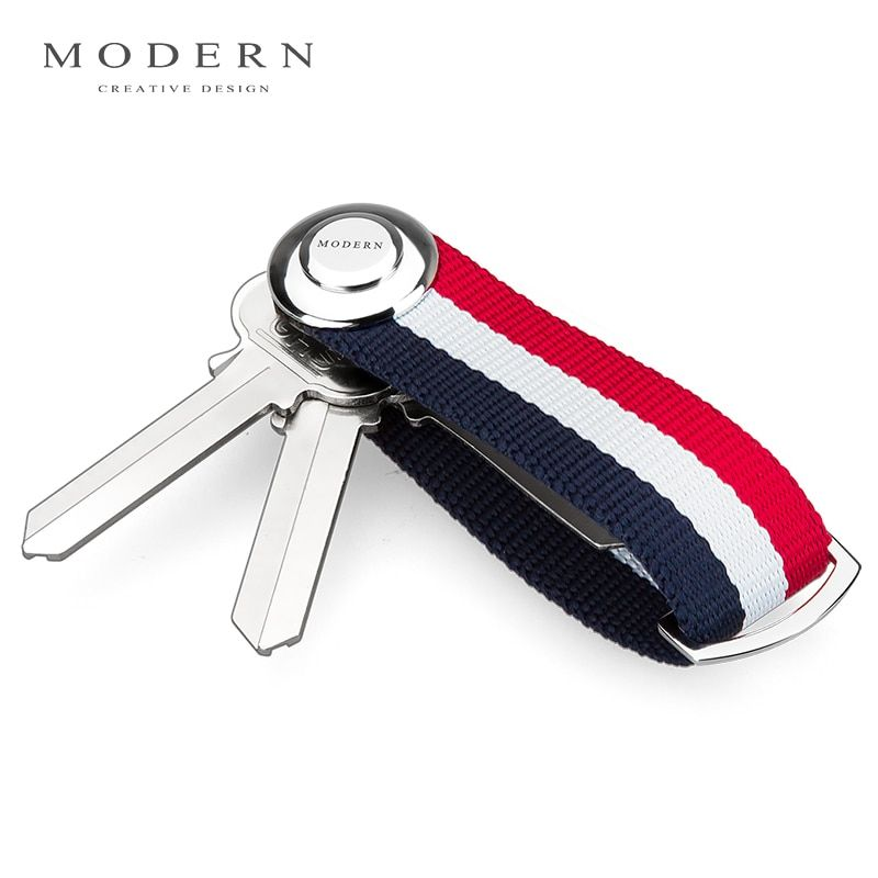 Modern - Brand New 2017 Smart Key Wallet EDC Gear Key Organizer Holder Keychain Famous Designer Creative Gift