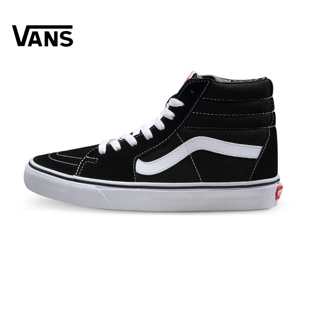 Original Vans Classic men's & women's Lover's Skateboarding Shoes old skool Sports Shoes SK8-Hi Sneakers