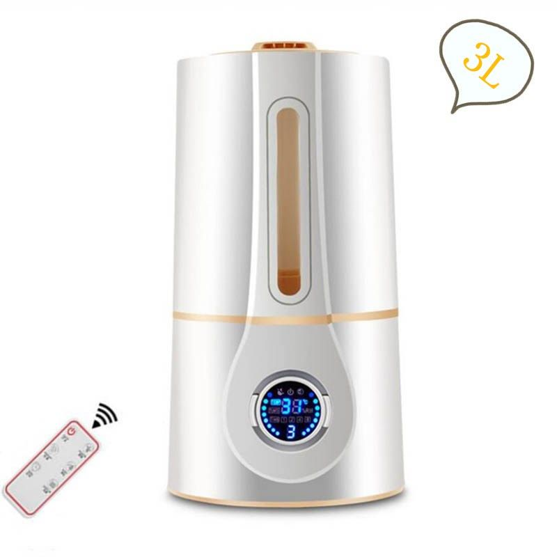 GXZ 3L Remote Control Aroma Diffuser LCD Screen Smart Ultrasonic Air Humidifier 3 modes Mist Maker Mini Timing Air Purifier