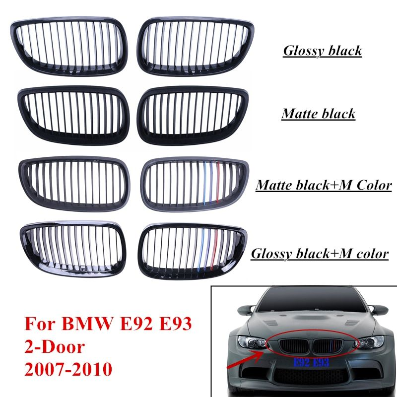 Front Grille Kidney Grill For BMW E92 E93 M3 3 Series 328i 335i  2-Door 2007 2008 2009 2010 Car Styling P24