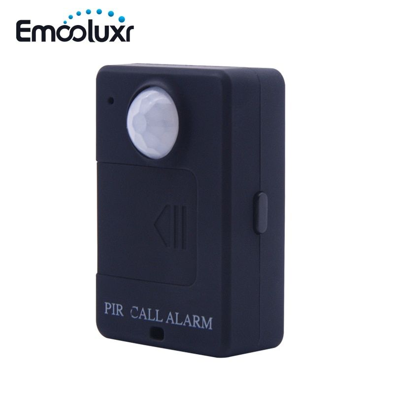 Portable Mini GSM PIR Alarm Motion Dection Wireless PIR Alert Infrared GSM Alarm A9 Security Monitor Alert, Free Shipping