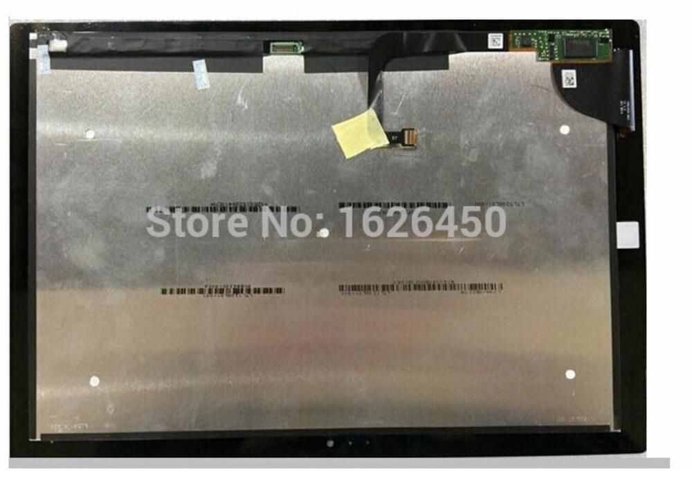 Marke original für microsoft surface pro 3 (1631) tom12h20 v1.1 ltl120ql01 003 lcd display touchscreen digitizer panel