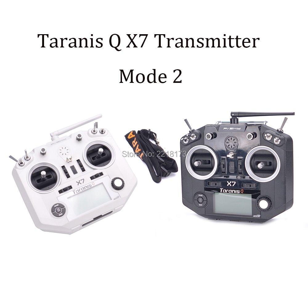 FrSky ACCST Taranis Q X7 QX7 2.4GHz 16CH Transmitter Without Receiver and battery Mode 2 For RC Multicopter