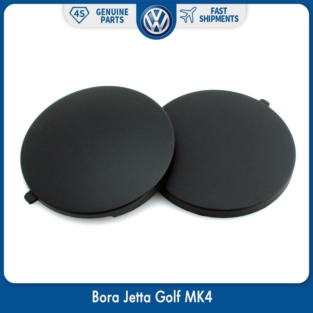 OEM Black 2pcs Rear Seat Smoking Cover Ashtray Cap for Volkswagen VW Bora Jetta Golf MK4 1J0 863 359 E 2QL