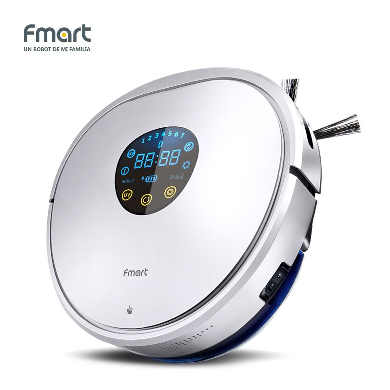 Fmart YZ-U1S Robot Vacuum Cleaner home cleaning UV Dust Sterilize With Self-Charge Remote Control Auto Cleaning Aspirator