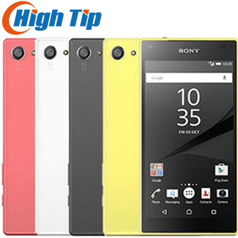 <font><b>Sony</b></font> Xperia Z5 Compact E5823 Unlocked Original 2GB RAM 32GB ROM Android Quad-Core&Quad Core 23MP GSM Smart Phone