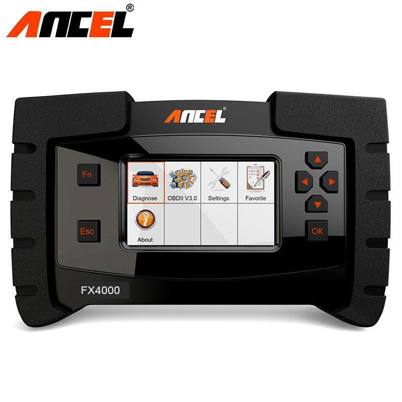 Diagnostic Tool ANCEL FX4000 OBD2 Scanner Full System Engine Transmission ABS SRS SAS Oil Reset Audto OBD2 Automotive Scanner
