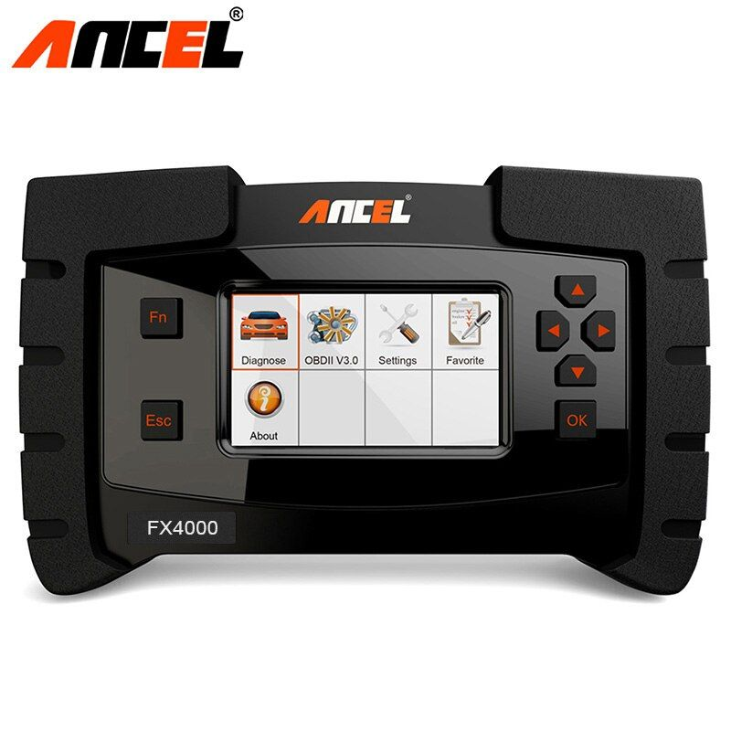 Diagnostic Tool ANCEL FX4000 OBD2 Scanner Full System OBD 2 Engine Transmission ABS SRS SAS Oil Audio ODB2 OBD Auto Diagnostic