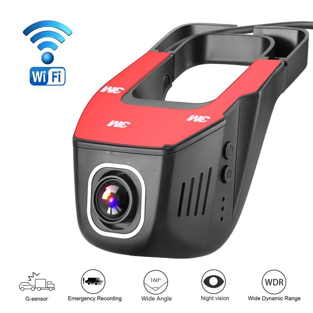 Car DVR DVRs Registrator Dash Camera Cam Digital Video Recorder Camcorder 1080P Night Version 96658 IMX 322 JOOY A1 WiFi