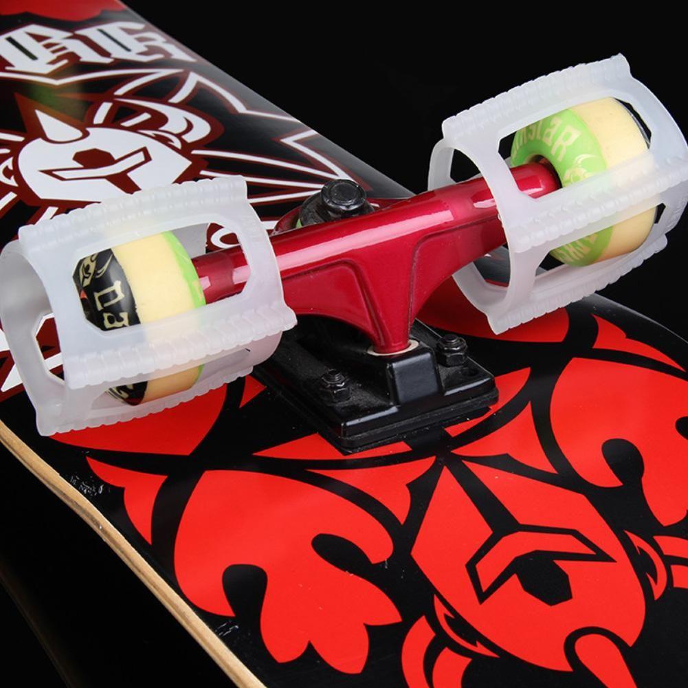 4Pcs Skateboarding Land Tricks Kickflip Practicing Accessory Ollie Fixation Tool