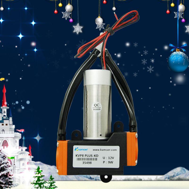 KVP8 PLUS 12/24V mini diaphragm vacuum pump dc motor micro air pump electric vacuum pump with high vacuum degree Kamoer(L)
