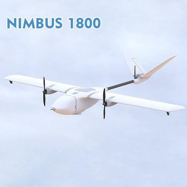 MyFlyDream MFD NIMBUS 1800 FPV Flugzeug RC Flugzeug Rahmen Kits Festen Flügeln