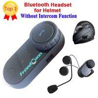 Casco Bluetooth para motocicleta auriculares estéreo impermeables BT auriculares inalámbricos Bluetooth cascos de motocicleta auriculares manos libres